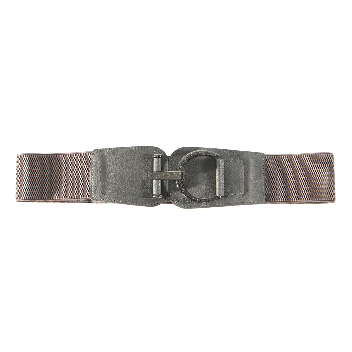 Grey Fancy Buckle Belt