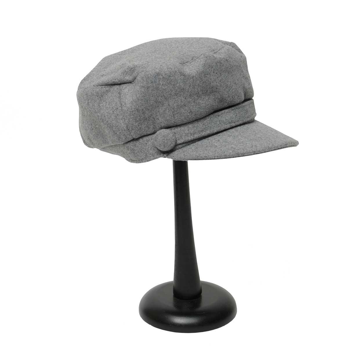 Grey 2 BUTTON CAP