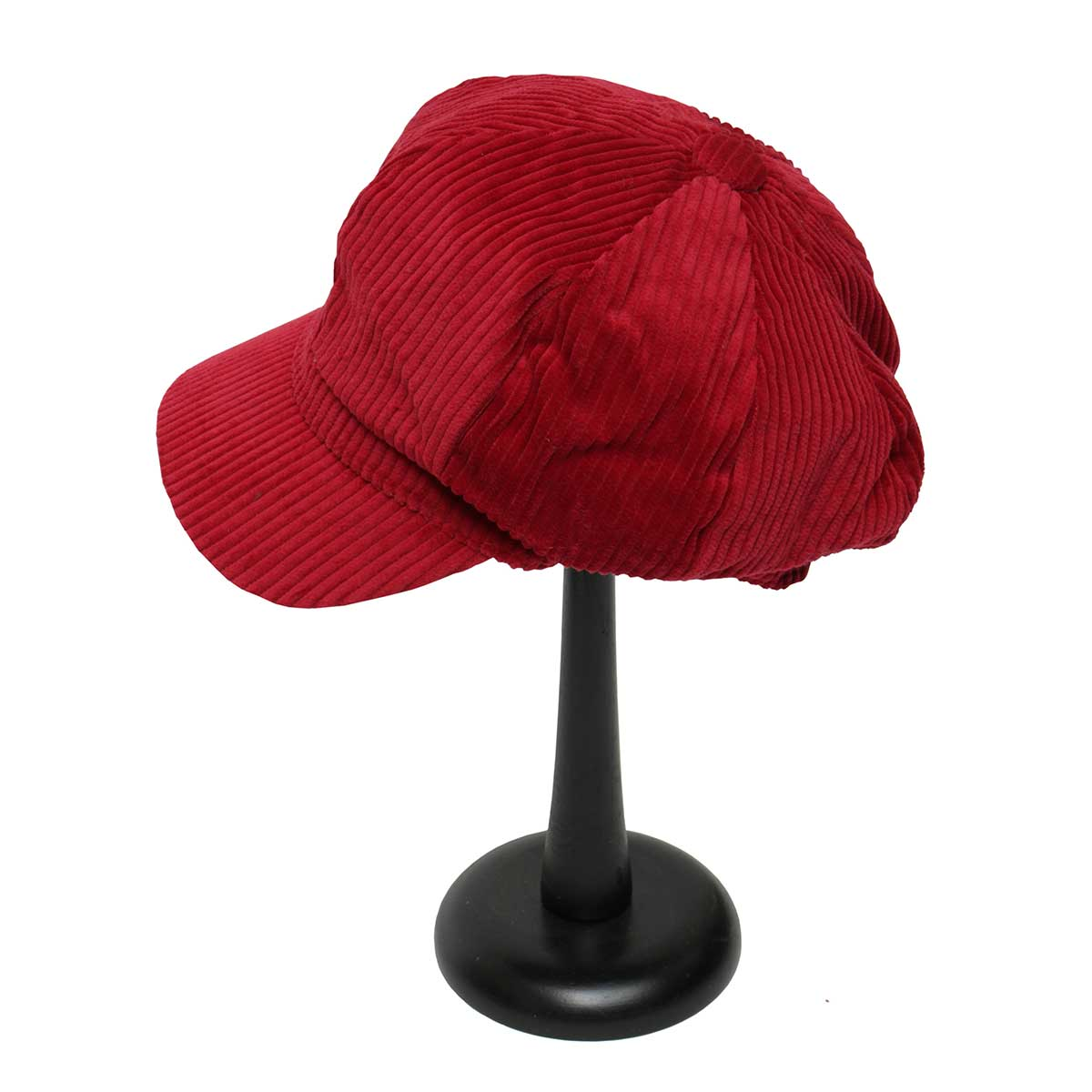 Red Corduroy Slouch Hat
