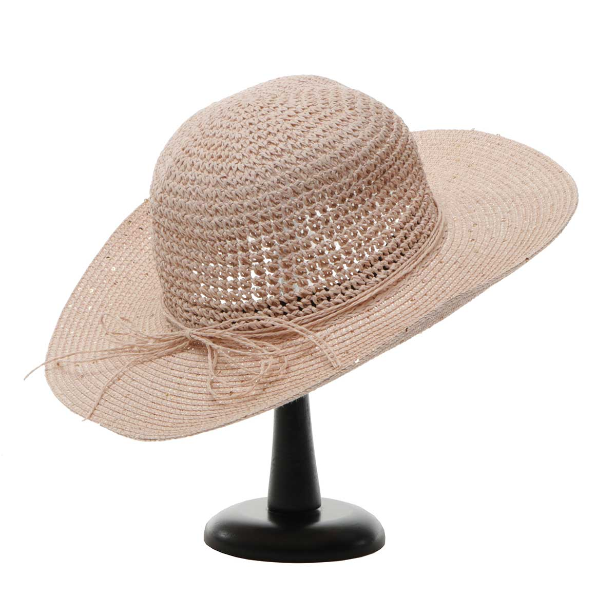 Pink Sparkle Beach Hat